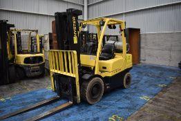 Hyster Forklift, Model H60FT, S/N P177V06452P, Year 2016, 5750 lb Capacity