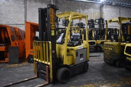 Hyster Electric Forklift, Model E50XN-27, S/N A268N20129P, Year 2016, 4750 lb Capacity
