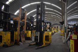 Hyster Electric Forklift, Model NDR035EANL36TE157, S/N C861N03076H, Year 2010, 3500 lb Capacity