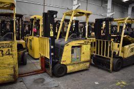 Hyster Electric Forklift, Model E30HSD3-18, S/N C219N01651N, 2850 lb Capacity