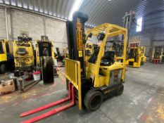 Hyster Electric Forklift, Model E50XN-27, S/N A268N20280P, Year 2016, 4750 lb Capacity