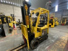 Hyster Electric Forklift, Model E50XN-27, S/N A268N20237P, Year 2016, 4750 lb Capacity