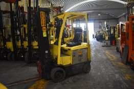 Hyster Electric Forklift, Model E50XN-27, S/N A268N20128P, Year 2016, 4750 lb Capacity