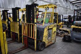 Hyster Electric Forklift, Model E30HSD2-18, S/N B219N02128L, Year 2013, 2900 lb Capacity