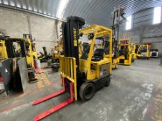 Hyster Electric Forklift, Model E50XN-27, S/N A268N20177P, Year 2016, 4750 lb Capacity