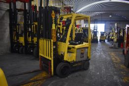 Hyster Electric Forklift, Model E50XN-27, S/N A268N20229P, Year 2016, 4750 lb Capacity