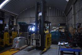 Yale Electric Forklift, Model NDR035EANL36TE157, S/N C861N03080H, Year 2010, 3500 lb