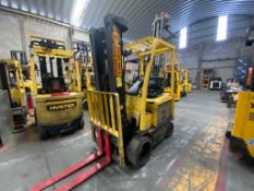 Hyster Electric Forklift, Model E50XN-27, S/N A268N20188P, Year 2016, 4750 lb Capacity