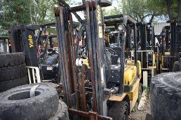 Yale Forklift, Model GTP25MX, S/N D871R02906P, Year 2016, Nissan LP gas, 5000 lb Capacity