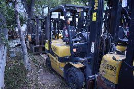 Yale Forklift, Model GTP25MX, S/N D871R02914P, Year 2016, Nissan LP gas, 5000 lb