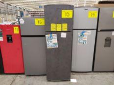 Refrigerador marca Acros, Modelo AT091FG, Serie 1792871, Color Gris, Golpeado, LB-750154563335