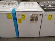 Lavadora 16 Kg, Marca Whirlpool, Modelo 8MWTW1613MJQ0, Serie HLA1014548, Color Blanca (Dañada la ti