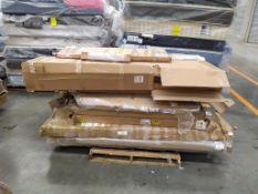 Tarima con 15 cajas Aproximadamente con Muebles de Madera para armar,LB-022403/SINREF15005/112487/3