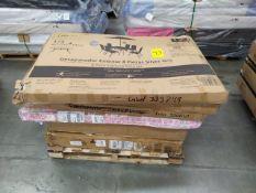 Tarima de Muebles para armar (Incluye 6 cajas), LB-333677/337404/333749/330610/330213, Favor de Ins
