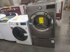 Lote de 2 piezas: Lavadora Y secadora Marca LG de 16/8 Kg, Modelo WD16WG2S6, Serie 107PNGX0M479, Co