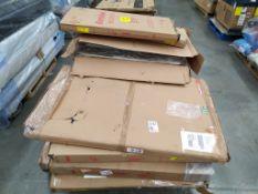 Tarima con 10 cajas Aproximadamente con Muebles de Madera para armar, LB-337370/333667/347749/37370