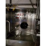 Cherry Burrell 10,000 Gallon All Stainless Steel Silo, Top Drive Vertical Agitator | Rig Fee: $10900