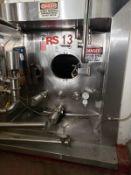 Walker 42,000 Gallon Stainless Steel Silo, Bottom Horizontal Agitator, M# 8224, | Rig Fee: $12000