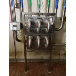 Stainless Steel Flow Fitting Manifold | Rig Fee: $200