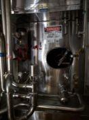 Mueller 50,000 Gallon Stainless Steel Silo, Bottom Horizontal Agitator, (Ref. RS | Rig Fee: $13900
