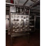 Stainless Steel Flow Fitting Manifold, W/ Valves | Rig Fee: $350