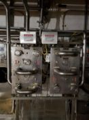 Lot of (2) Stainless Steel Flow Fitting Manifolds | Rig Fee: $250