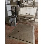 In-Floor Platform Scale, W/ Bench Top Scale | Rig Fee: $750