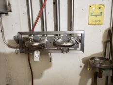 Stainless Steel Flow Fitting Manifold | Rig Fee: $250