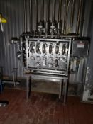 Stainless Steel Flow Fitting Manifold, W/ Valves | Rig Fee: $300