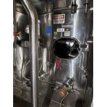 Mueller 44,000 Gallon Stainless Steel Silo, Bottom Horizontal Agitator, (Ref. RS | Rig Fee: $13900