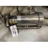 Centrifugal Hot Liquor Tank Pump, 1.5 HP with Washguard SST Motor - Subj to Bulks | Rig Fee: $100