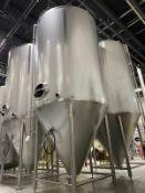 2015 Quality Tank 60 BBL Steep Cone Bottom Fermenter, Glyco - Subj to Bulks | Rig Fee: $2250 Cradled