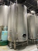 2015 Quality Tank 120 BBL Brite Tank, Center Outlet Dish Bo - Subj to Bulks | Rig Fee: $3000 Cradled