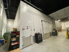 2015 SRC Walk-in Cooler, Approx Outside Dims: 30ft x 30ft x 17ft - Subj to Bulks | Rig Fee: $8500
