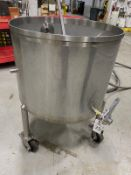 2015 Quality Tank Cleanout Tank, Open Top, Approx Dims:2ft-6in OD - Subj to Bulks | Rig Fee: $50