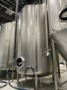 2015 Quality Tank 60 BBL Brite Tank, Center Outlet Dish Bo - Subj to Bulks | Rig Fee: $2250 Cradled