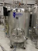 2015 Quality Tank 7 BBL Brite Tank, Glycol Jacketed, On Casters, - Subj to Bulks | Rig Fee: $350
