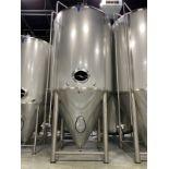 2015 Quality Tank 120 BBL Steep Cone Bottom Fermenter, Glyc - Subj to Bulks | Rig Fee: $3000 Cradled