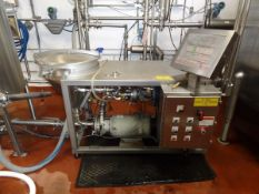 DSI Dry Ingredient Blender, Additional Info: Dump Table And Common Frame With F | Reqd Rig Fee $900