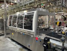 2015 Krones Contipack Continuous Motion Case Packer, S/N: KR64208, Last running | Reqd Rig Fee $1450