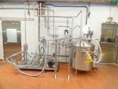 "Rotosolver 140 Gallon High Shear Mixer With 1-1/2"" Positive Displacement Pump, 