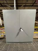 Ebox 2-Door Electrical Cabinet, 6ft x 6ft NEMA 12, Incldues Trip Light, UPS Uni | Reqd Rig Fee $350