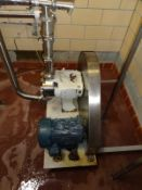 Waukesha Cherry Burrell Model 130 Positive Displacement Pump, 10 HP, S/N: 92836 | Reqd Rig Fee $200