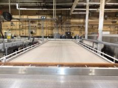 Sentry 8' x 25' Bi-Directional Accumulation Table, Additional Info: Stainless S | Reqd Rig Fee $1200