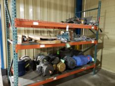 Pallet Rack Section, W/ Contents, Spare Parts | Rig Fee $400