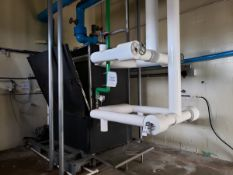Plate Type Water Chiller Skid, W/ Pumps   Rig Fee $500