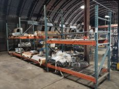 Lot of Pallet Rack, W/ Contents, Spare Parts | Rig Fee $Buyer to Remove or Contact Rigger
