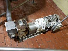 Crepaco 10 HP Positive Displacement Pump, M# R6BS   Rig Fee $200