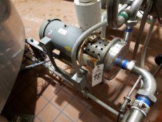 5 HP Sanitary Centrifugal Pump   Rig Fee $75