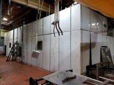 "Lanham Monorail Type Spiral Oven, M# 6825, 17' X 47' X 11'6"" Tall, W/ Controls, L | Rig Fee See Desc"